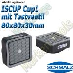Schmalz Innospann Sauger-Cup ISCUP Cup-1 TV 80 x 80 mm Höhe 30 mm