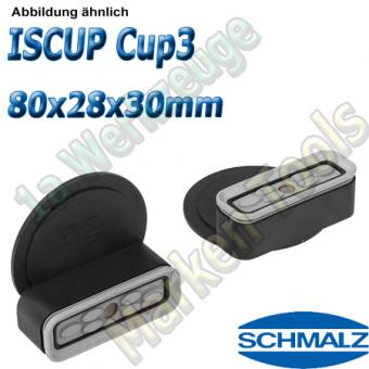 Schmalz Innospann Sauger-Cup ISCUP Cup-3 80 x 28mm Höhe 30 mm